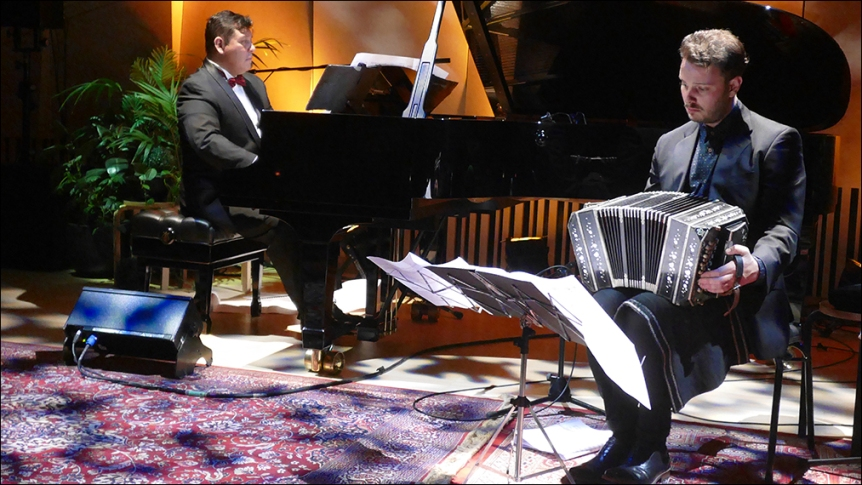 2019-06-09 - Daniel Rojas (piano) & Stephen Cutriss (bandoneon) at the Melbourne Recital Hall