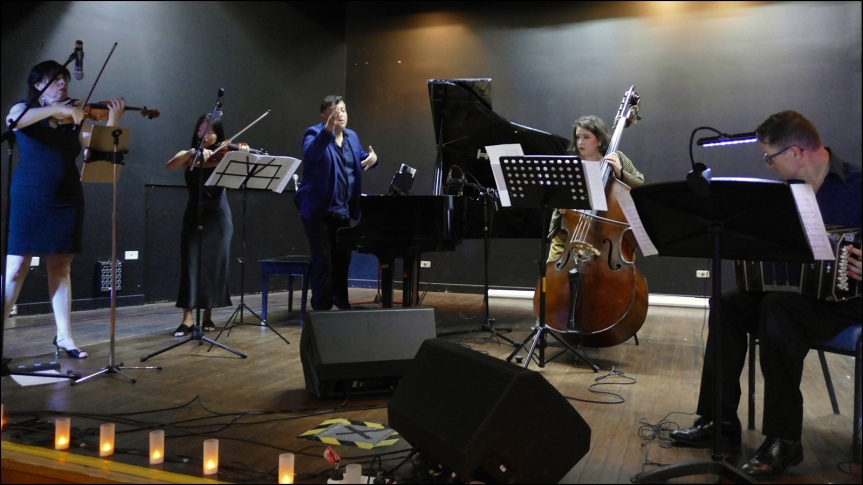 2020-04-05 - Orquesta La Luna en milonga at the Bexley Club in Sydney on 30 March 2019