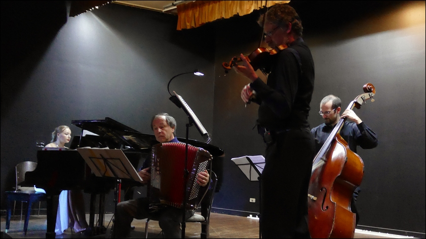 2020-06-02 - Cuarteto Con Brio, playing the autumn milonga on 29 Feb 2020, Sydney